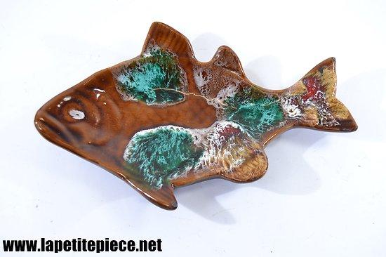 Petit plat / vide poche poisson - Vallauris années 1960 -1970
