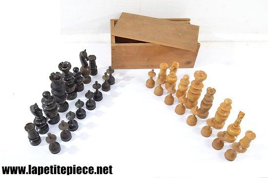 Pions jeu d'échecs - début 20e Siècle