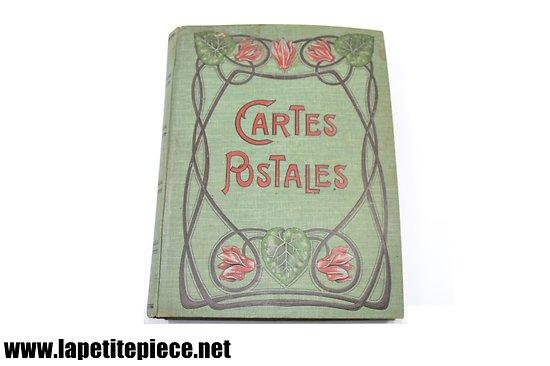 Album cartes postales et photos 1908 - voyage à vélo