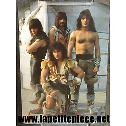 Poster affiche MAN O WAR Rebel Rock 1985 -  RA182