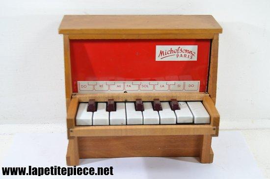Piano d'apprentissage Michelsonne Paris 13 touches