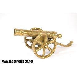 Petit canon en bronze-laiton 1er Empire