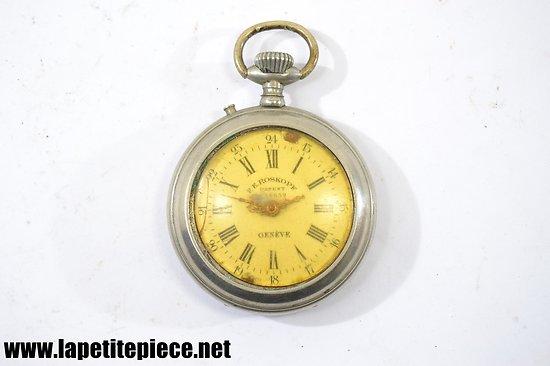 Montre à gousset Suisse F.E. ROSKOPF patent 18632 Genève