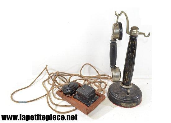 Téléphone colonne Grammont  système Cheronnet