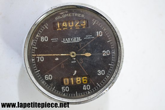 Compteur Jaeger 12099 Patent Applied for /  Breveté SGDG 80km