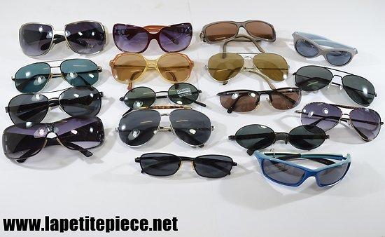 Lot de lunettes de soleil - déstockage magasin