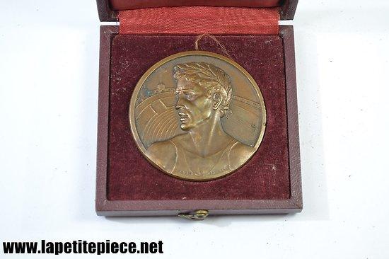 Médaille de table Athlète - signée Charm