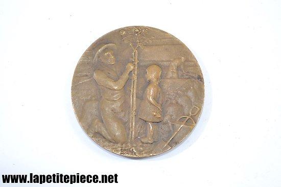 Médaille agricole signée Emile Monier