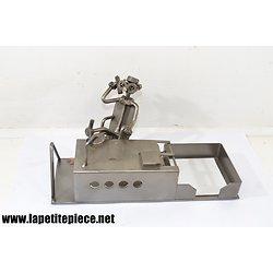 Set de bureau métal recyclé design Hinz & Kunst Das original GERMANY