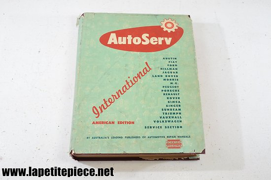 Guide technique AUTOSERV International 1961 - scientific magazines