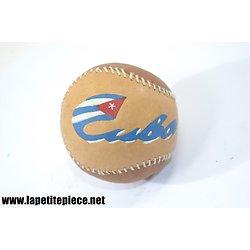 Balle de baseball décorative Cuba