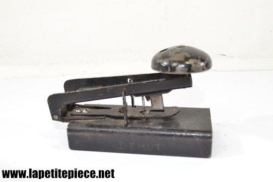 Perforateur de bureau début 20e Siècle
