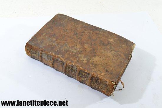 1766 Principes du droit de la nature et des gens TOME 1. Par J.J. BURLAMAQUI. Edt. YVERDON MDCCLXVI