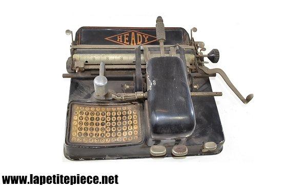 Machine à écrire Heady Fabrication Française