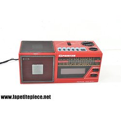 Radio-réveil Pointer model 5335 années 1980.