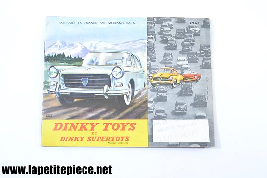 Catalogue Dinky Toys 1961