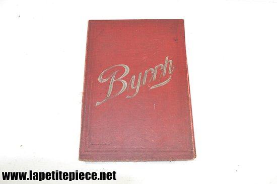 Porte menu publicitaire Byrrh ancien