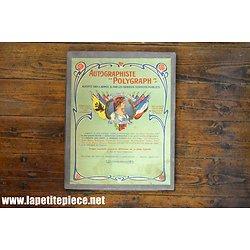 """Autographiste """"Polygraph"""" La Marianne des Alliés. Imp. Lenfant Paris"""