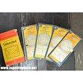 Lot cartes routières années 1950. Michelin