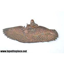 Vide poche / repose plume décor oiseau / sage