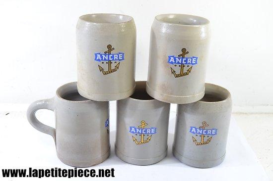 Chope à bière ANCRE BEER ALSACE