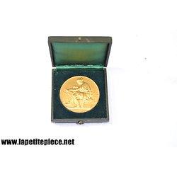 Médaille en argent Chambre Syndicale des Entrepreneurs d'étanchéité F. Chabaud