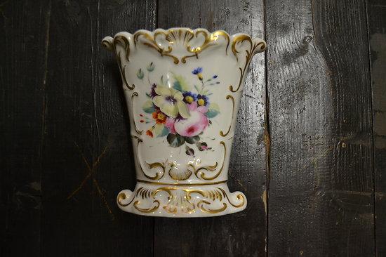 Vase de mariée en porcelaine, fin 19e - début 20e Siècle