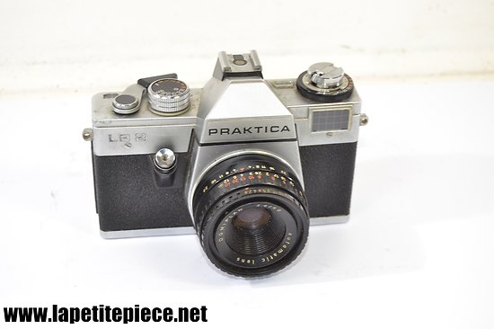 Appareil photo argentique PRAKTICA LB2 made in G.D.R. 1978 objectif Domiplan 2,8/50
