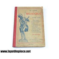 Le livre de Musique par Claude Augé, 200 gravures