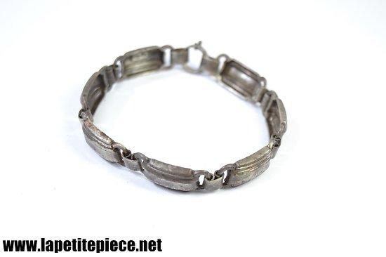 Bracelet en argent massif 925 - début 20e Siècle