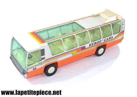Bus Joustra Europ'Cars années 1980.