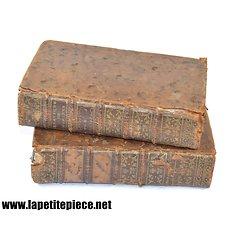 Livre 1758 Pratique de Ferriere, nouvelle introduction a la pratique. Tome I et II