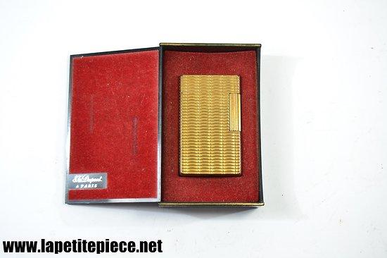 Briquet S.T. DUPONT PARIS Made in France CK avec boite d'origine