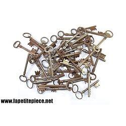 Lot clés de maison anciennes - vrac