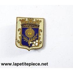 Badge blason ville de Charleville (Ardennes / Charleville-Mézières).