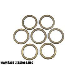 Lot anneaux tringle à rideau 45mm / 61mm