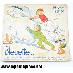 Catalogue Bleuette - Hiver 1937 - 38. Illustrations Manon Lessel