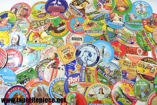 Lot étiquettes de fromage anciennes