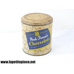 Boite tôle Anglaise Peek Freans Cheeselets (alimentaire)