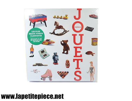 Livre JOUETS VINTAGE incluant le jeu du moulin avec les pions. Editions White Star