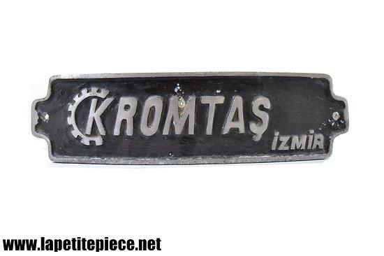 Plaque machine professionnelle KROMTAS Izmia (Turquie)