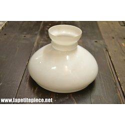 Opaline (verre) de suspension 24cm