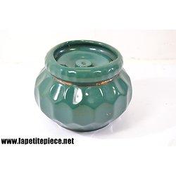 Pot à tabac Lucien Bridou, décor 250 vert