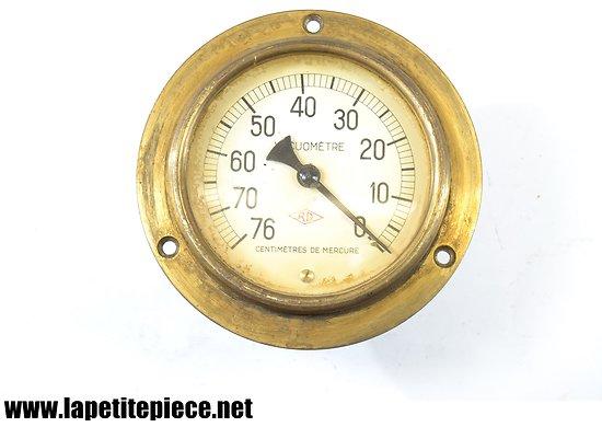 Manomètre de mesure VACUOMETRE RD, tour laiton