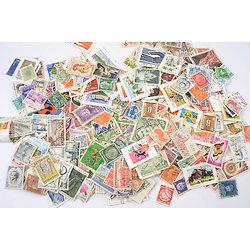 Lot timbres en vrac, oblitérés. France et Monde