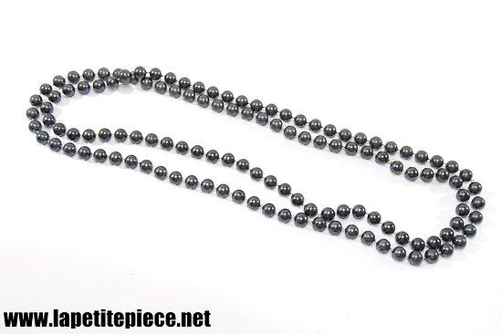 Collier en perles fantaisie 120cm