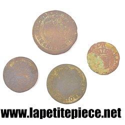 Lot monnaies de fouille 17e et 18e Siècle