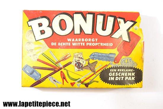 Paquet de lessive Bonux années 1950 - 1960