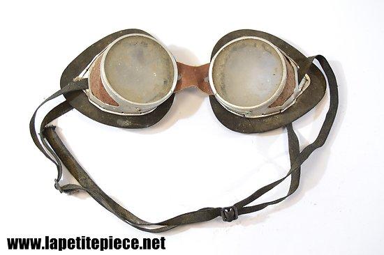 Paire de lunettes motard / aviateur début 20e Siècle