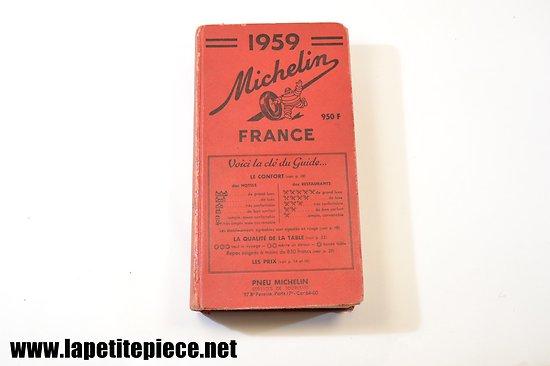 Guide Michelin 1959